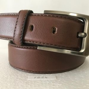 Other - Brown Wingtip Belt Chocolate color Business Casual
